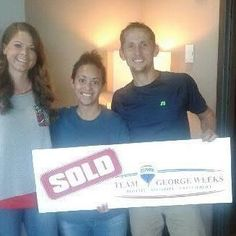 Congratulations to Andrew & Amanda I. on the sale of their house & the purchase of their new home with Shannon Orrand & #TeamGeorgeWeeks! #MovingDay