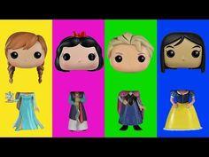 Wrong Heads For Kids Disney Pop Princess Frozen Elsa Anna Family Song Nursery Rhymes Kids Hangout - YouTube  #DisneyPrincess