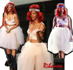 Rihanna MTV VMAs 2010 OUTFIT halloween costume diy | Flickr - Photo Sharing!