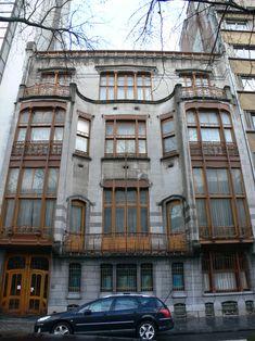 Victor Horta - Hôtel Solvay - Brussels, Belgium, 1900