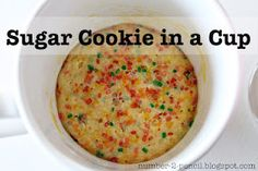 Loving this idea! Single serving 'baked' cookie. I suppose this would save me from eating an entire batch of cookies! ha!