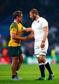 Chris Robshaw Photos - England v Australia - Group A: Rugby World Cup 2015…