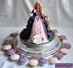 2012-01-28 Rapunzel Birthday Cake