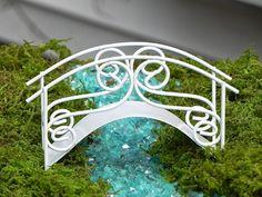 Fairy Garden accessories bridge miniature  by TheLittleHedgerow