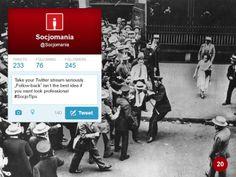 50 Twitter Tips (20). Full presentation: https://www.slideshare.net/Socjomania/the-ultimate-guide-to-twitter-50-useful-tips  #Twitter #TwitterTips #SocialMedia #SocialMediaTips