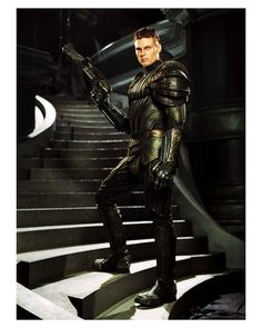 Karl Urban as Lord Vaako (The Chronicles of Riddick)