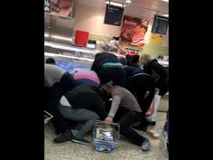 The disturbing scenes unfolding at a Tesco supermarket in Northampton after marked down food was put on trays at around and footage shows grown men and w. Grown Man, Special Deals, Watches For Men, Wrestling, Lucha Libre, Gents Watches