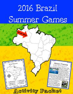 Celebrate the 2016 Summer Olympics with these fun and informative activities. Includes informational reading passages, math activities, and a sports research poster!