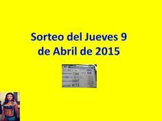 Sorteo Jueves 9 de Abril 2015 - Loteria Nacional de Panamá
