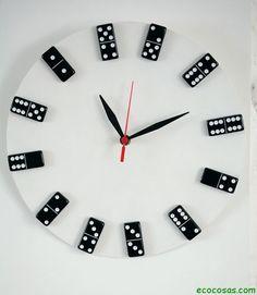 Reloj dominó - ecocosas