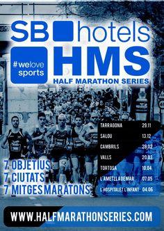 #Runners  7 OBJETIVOS 7 CIUDADES 7 MEDIAS MARATONES #Gas
