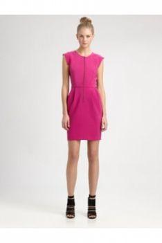 #Rebecca #Taylor http://www.ogfred.com/brand/1009/rebecca-taylo Crepe Dress Magenta Color: Magenta Price: $315.00