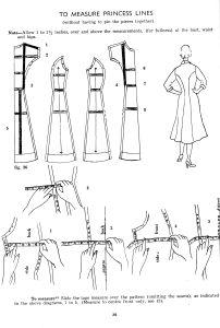 How to measure an armhole princess seam