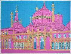 Brighton Royal Pavilion by Geoffrey Elliott