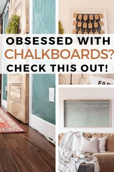 There are so many ways to use a chalkboard in your home. Hop over to see all the different ways, plus how to make your own chalkboard paint. Make Chalkboard Paint, Make Chalk Paint, Chalkboard Decor, Chalkboard Walls, Diy Wall Art, Diy Wall Decor, English Decor, Distressed Furniture, Paint Furniture