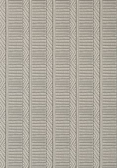 MONTECITO STRIPE, Charcoal, AT78720, Collection Palampore from Anna French
