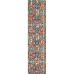 Bungalow Rose Fujii Orange Area Rug Rug Size: Runner x Orange Rugs, Orange Area Rug, Blue Area, White Area Rug, Beige Area Rugs, Area Rug Sizes, Round Rugs, Animals For Kids, Abstract Pattern