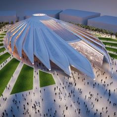 Santiago+Calatrava+selected+to+design+UAE+Pavilion+for+Dubai+Expo+2020
