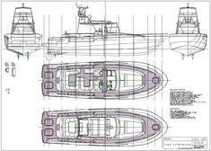 Plans en ligne / on line plans Small Boats, Boat Plans, Model Ships, Paper Models, Boat Building, Line, Floor Plans, How To Plan, Yachts