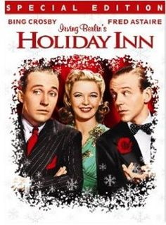 Classic Christmas Movies | Bing Crosby is the original triple threat in my book. Holiday Inn is a great movie year round.