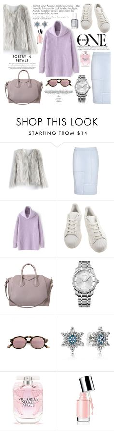 """""""stand out from the rest"""" by deckerandlee on Polyvore featuring Chicwish, Frame Denim, adidas, Givenchy, Calvin Klein, Spektre, Pandora, Victoria's Secret and Essie"""