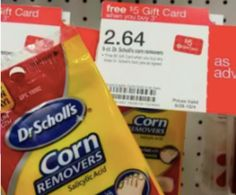 Target: FREE Dr. Scholl's Corn Removers http://ceploitips.com/target-free-dr-scholls-corn-removers/ #target #free #freebies #freestuff