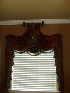 Custom Window Treatment Design | Flickr - Photo Sharing! Valance Curtains, Window Treatments, Drapes Curtains, Custom Drapery, Curtains, Windows, House, Home Decor, Custom Window Treatments