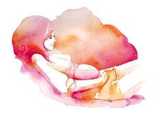 Google Image Result for http://www.carolinepapadato.com/wp-content/uploads/2011/11/caroline_papadato_watercolour_pregnant_woman.jpg