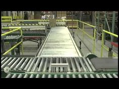 Conveyor Systems - Automated Roller Conveyors  - Carton Pushers  by SJF.com
