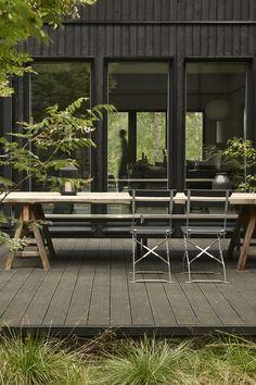 DIY large patio dining table: deko-terrace-scandinaviandeko