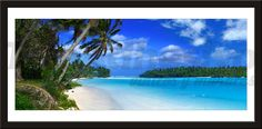 Adesivi Murali Spiaggia caraibica