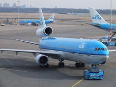 KLM McDonnell Douglas MD-11 Mcdonnell Douglas Md 11, Let's Have Fun, Planes, Dutch, Aviation, Aircraft, Airplanes, Dutch Language, Airplane