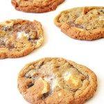 Cornflake Marshmallow Cookies   via sweetestmenu.com