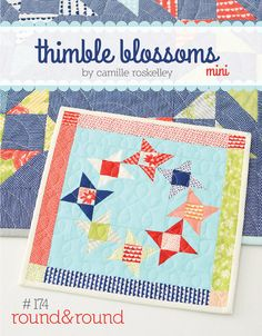 Round & Roundl  174 Mini Quilt Kit by handmadeisheartmade on Etsy, $26.00