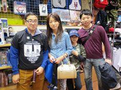 【大阪店】2015.03.30 お久しぶりのお客様っ!以前は修学旅行でご来店して頂きました♪ご兄弟揃ってホッケーを!北海道から楽しみに来てくださいました(*´艸`*)また大阪に来た時は、お店にお立ち寄り下さいねっ!