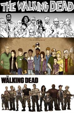 The Walking Dead(Comic Book, Video Game, TV Show)