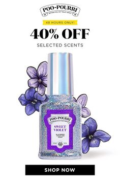 For a (very) limited time, get 40% OFF select scents and sets. But hurry... When they're gone, they're gone! Household Cleaning Tips, Cleaning Hacks, Sheet Cake Pan, Powder Laundry Detergent, Toilet Spray, Coconut Smoothie, Sweet Violets, Poo Pourri, Blackberry