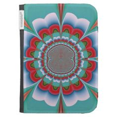 #Funky #Flower #Kindle #Cover