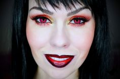 PetraLovelyHair: FOTD - čertovský makeup trochu jinak   ☻ Devil makeup ☻ Devil Makeup, Devil Costume, Costume Makeup, Petra, Halloween Ideas, Halloween Face Makeup, Google Search, Blog, Demon Makeup