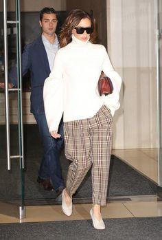 Bundled Up Babe - The Style Evolution of Victoria Beckham - Photos
