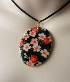 A personal favorite from my Etsy shop https://www.etsy.com/listing/230081484/japanese-blossoms-pashe-necklace