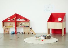 Torafu Architects hides dolls' house within a wooden chair