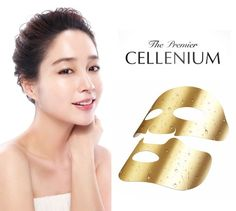 ISA KNOX The Premier Secret Cellenium Golden Therapy Mask 25g*5pcs 1Pack KBeauty #LGISAKNOX