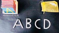 Tvary na skladanie písmen Montessori Activities, Company Logo, Logos, Logo
