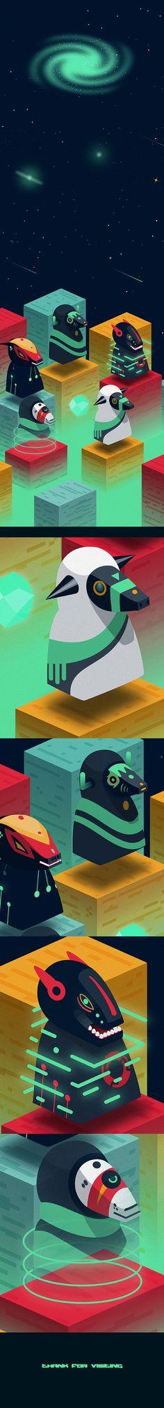 Phobos on Character Design Served