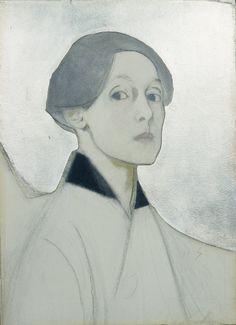 Art Contrarian: In the Beginning: Helene Schjerfbeck