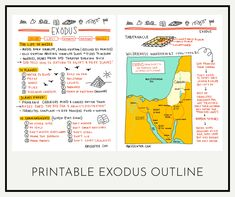 Study the Book of Exodus with this Printable   Amy Senter