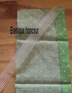 elastique fronceur