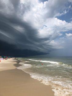 Clouds over orange beach Beach Activities, Orange Beach, Vacation Spots, Beautiful Beaches, Photo Credit, Surfing, Coast, Clouds, Alabama
