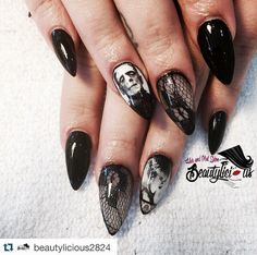 My dream monster nails!